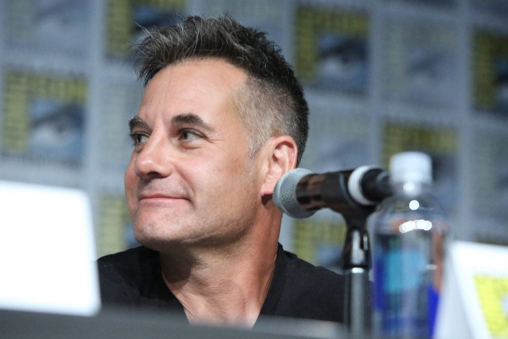 "COMIC-CON INTERNATIONAL: SAN DIEGO -- ""Colony Panel"" -- Pictured: Adrian Pasdar -- (Photo by: Evans Vestal Ward/USA Network)"