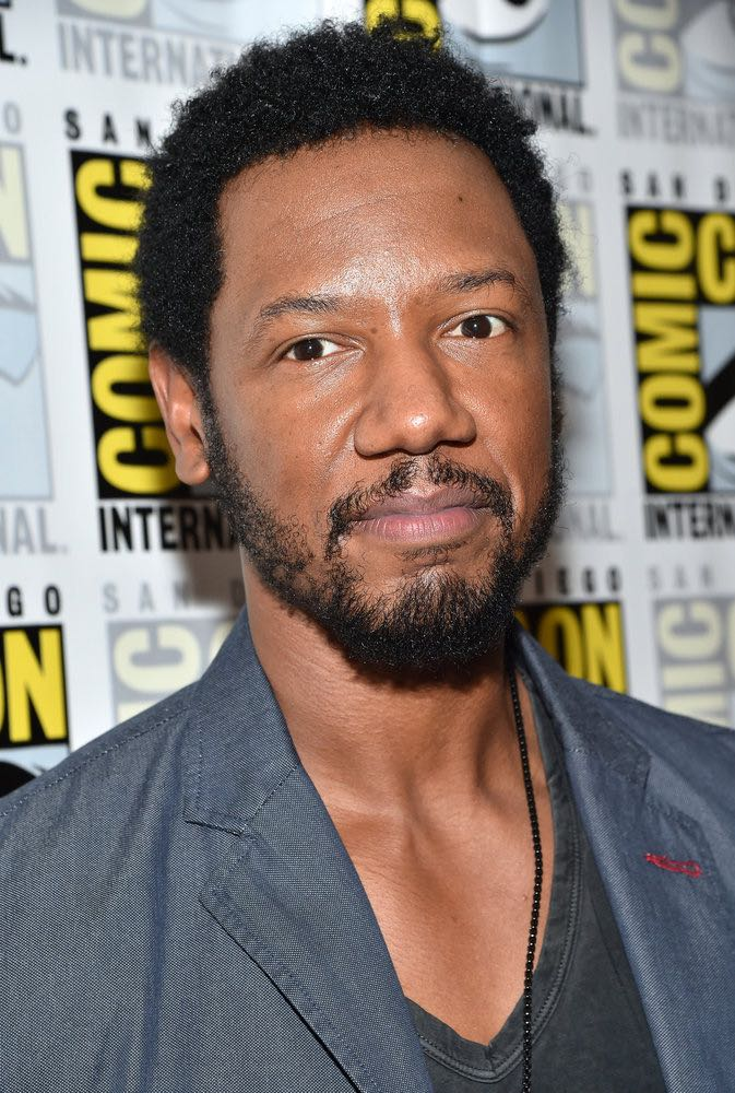 "COMIC-CON INTERNATIONAL: SAN DIEGO -- ""Colony Press Room"" -- Pictured: Tory Kittles -- (Photo by: Mike Windle/USA Network)"