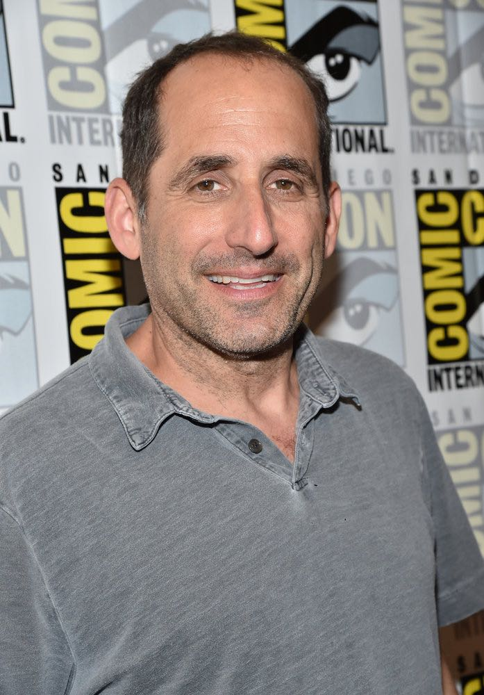 "COMIC-CON INTERNATIONAL: SAN DIEGO -- ""Colony Press Room"" -- Pictured: Peter Jacobson -- (Photo by: Mike Windle/USA Network)"