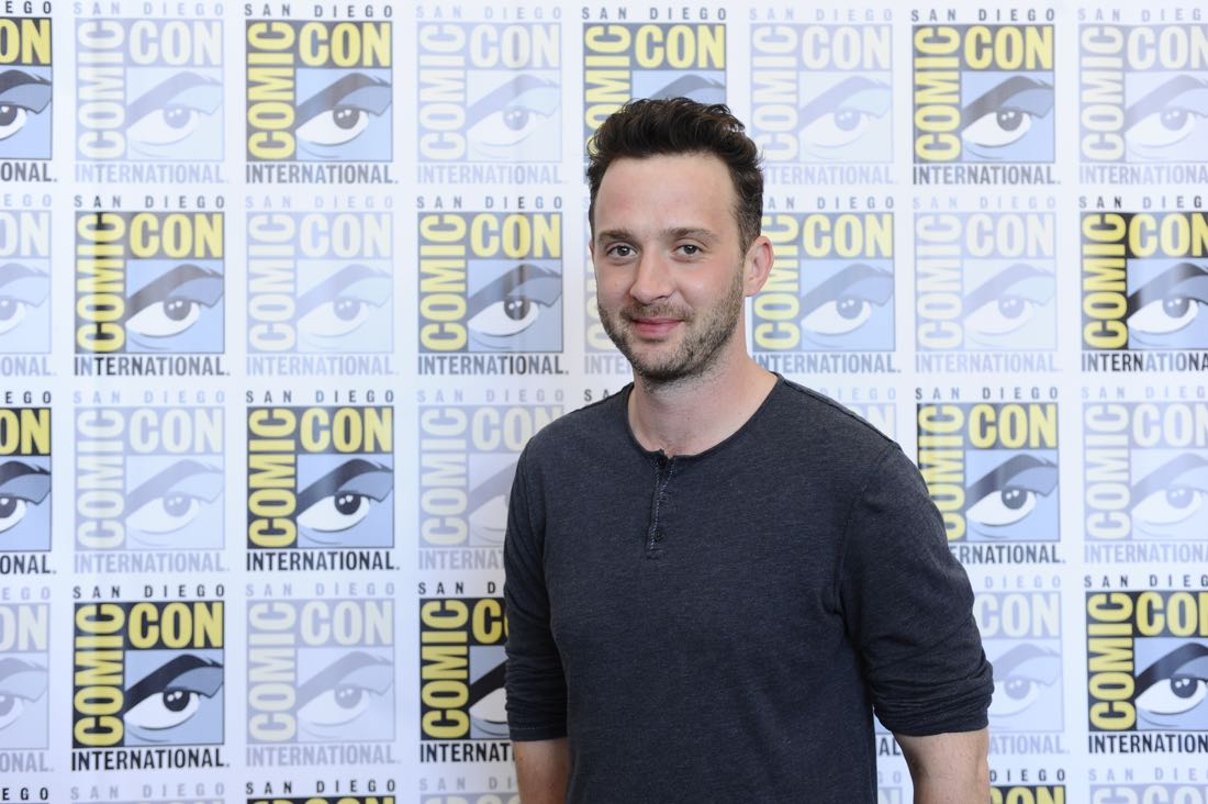 The cast of Scorpion goes live on Facebook with CBS Interactive at COMIC-CON® 2016 in San Diego, California.Pictured: Eddie Kaye Thomas Photo: Johnny Vy/CBS ©2016 CBS Broadcasting, Inc. All Rights Reserved