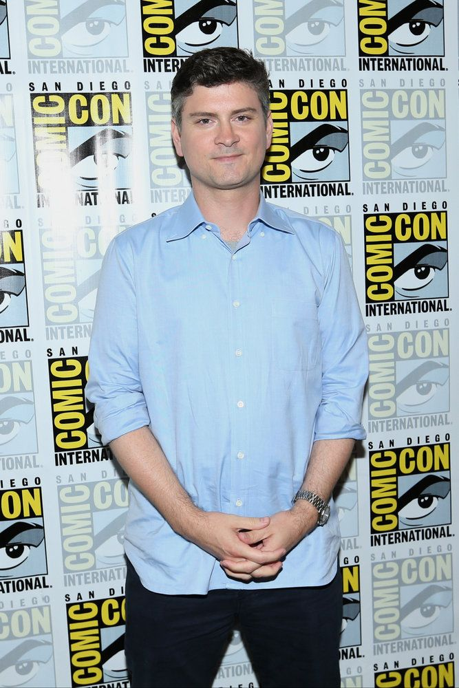 "COMIC-CON INTERNATIONAL: SAN DIEGO 2016 -- ""The Good Place"" Press Room -- Pictured: Michael Schur, Creator / Executive Producer -- (Photo by: Mark Davis/NBC)"
