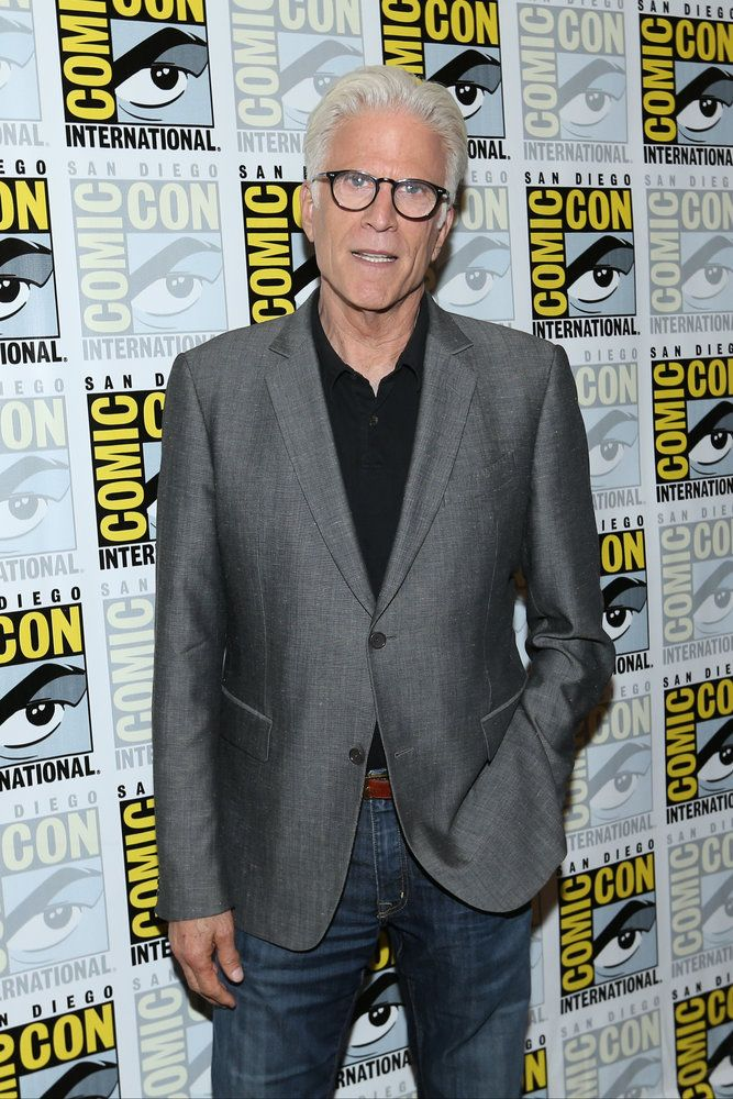 "COMIC-CON INTERNATIONAL: SAN DIEGO 2016 -- ""The Good Place"" Press Room -- Pictured: Ted Danson -- (Photo by: Mark Davis/NBC)"