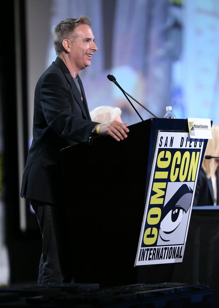 "COMIC-CON INTERNATIONAL: SAN DIEGO 2016 -- ""The Good Place Panel"" -- Pictured: Michael Schneider -- (Photo by: Daniel Cristol/NBC)"