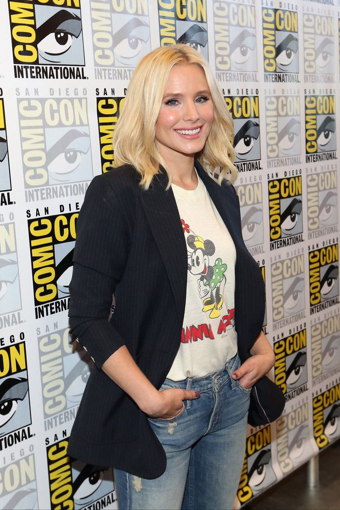 "COMIC-CON INTERNATIONAL: SAN DIEGO 2016 -- ""The Good Place"" Press Room -- Pictured: Kristen Bell -- (Photo by: Mark Davis/NBC)"