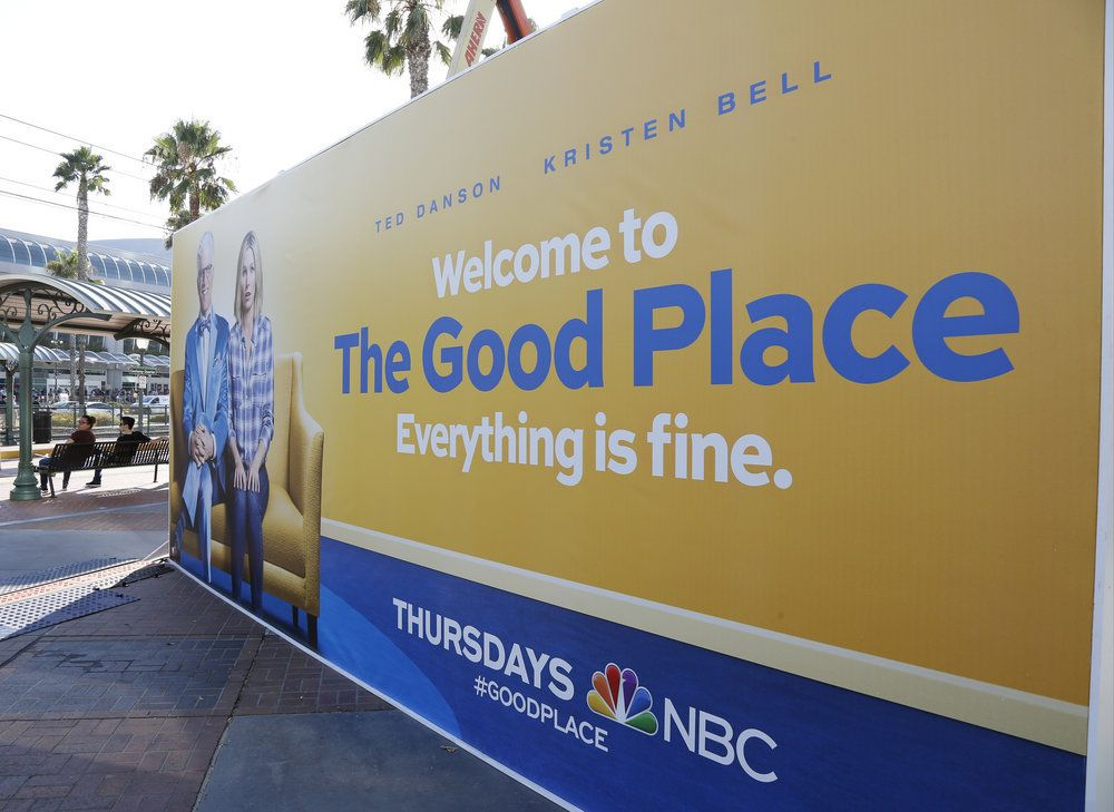 "COMIC-CON INTERNATIONAL: SAN DIEGO 2016 -- ""NBC at Comic-Con"" -- Pictured: ""The Good Place"" NBC Activation, Tin Fish, San Diego, Calif. -- (Photo by: Daniel Cristol/NBC)"