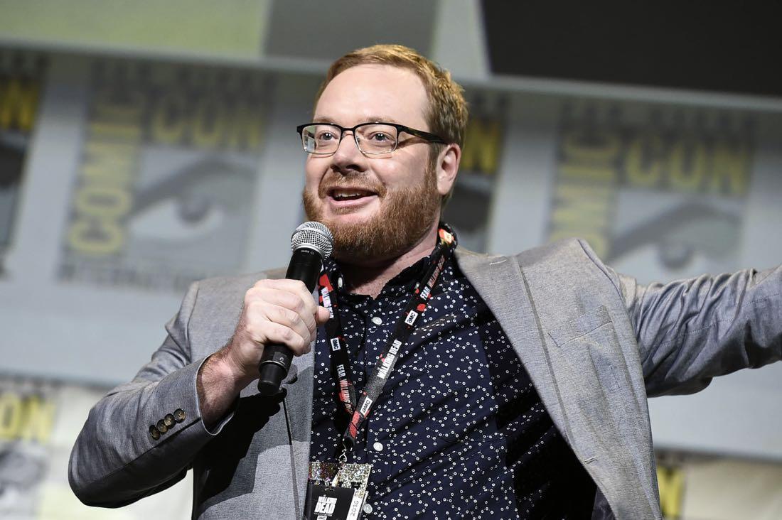 TROLLS Co-Director Walt Dorn at DreamWorks Animation's Comic Con Hall H Panel.