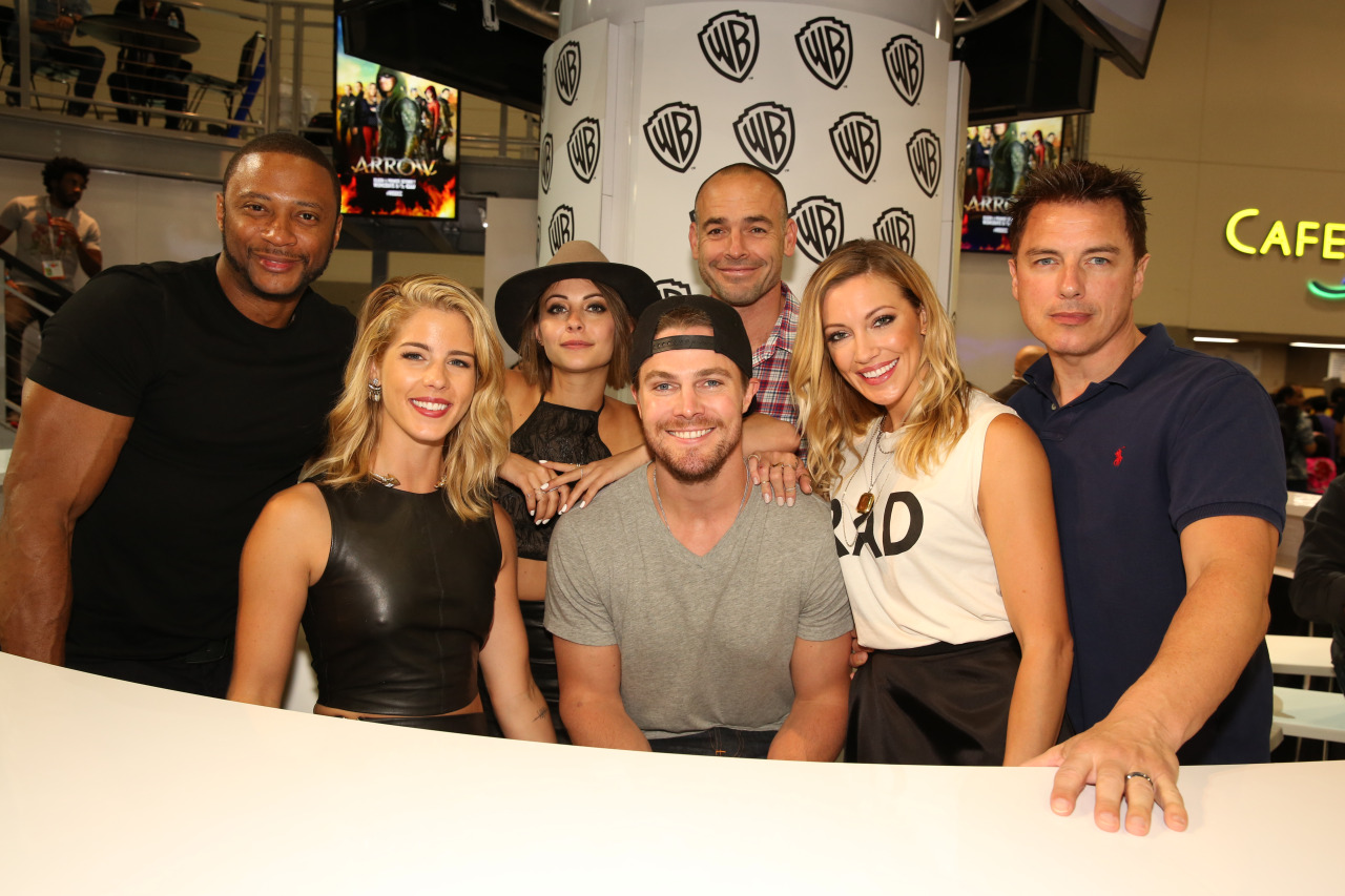 SDCC 2015 Arrow Cast 2