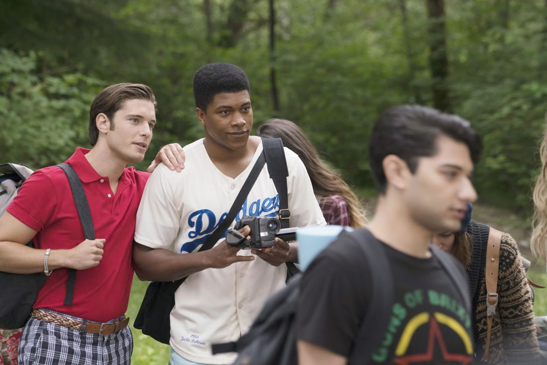 "DEAD OF SUMMER - ""How to Stay Alive in the Woods"" - Joel has an eye-opening experience during the overnight camping excursion in ""How to Stay Alive in the Woods,"" an all-new episode of ""Dead of Summer,"" airing TUESDAY, JULY 26 (9:00 - 10:00 p.m. EDT), on Freeform. (Freeform/Katie Yu) RONEN RUBINSTEIN, ELI GOREE, MARK INDELICATO"