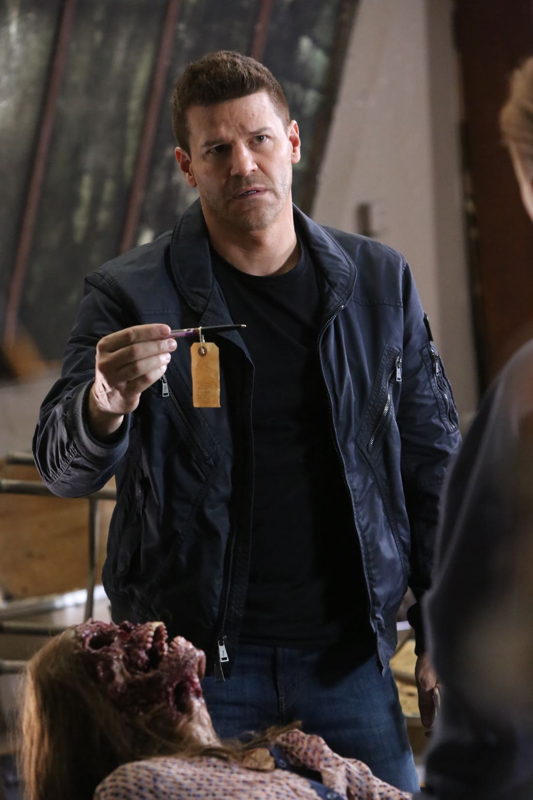 """BONES: David Boreanaz in the """"The Nightmare Within The Nightmare"""" season finale episode of BONES airing Thursday, July 21 (8:00-9:00 PM ET/PT) on FOX. ©2016 Fox Broadcasting Co. Cr: Patrick McElhenney/FOX"""