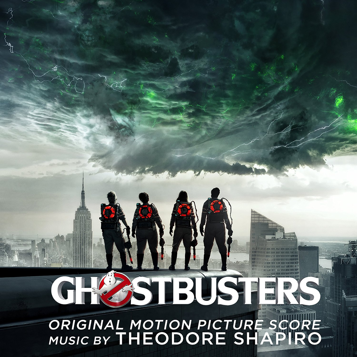 Ghostbusters 2016 Soundtrack CD