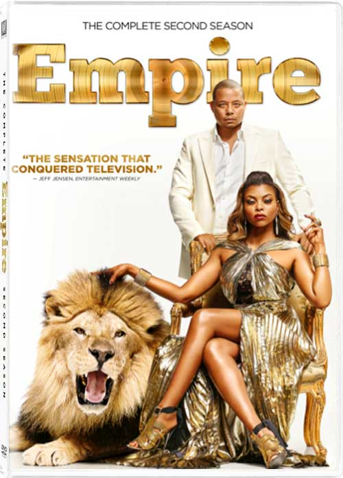 Empire Season 2 DVD