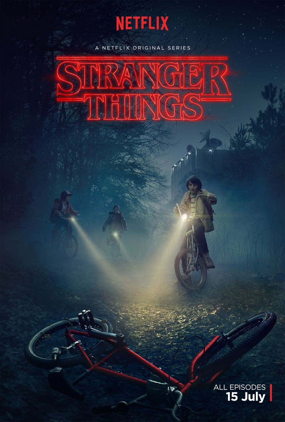 STRANGER THINGS Poster Key Art