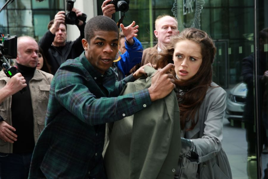 """GUILT - """"The Eye of the Needle"""" - Grace is rescued by a stranger who may have an ulterior motive on an all-new episode of """"Guilt,"""" airing MONDAY, JULY 18 (9:00 - 10:00 p.m. EDT), on Freeform. (Freeform/Angus Young) RYAN GERALD, DAISY HEAD"""