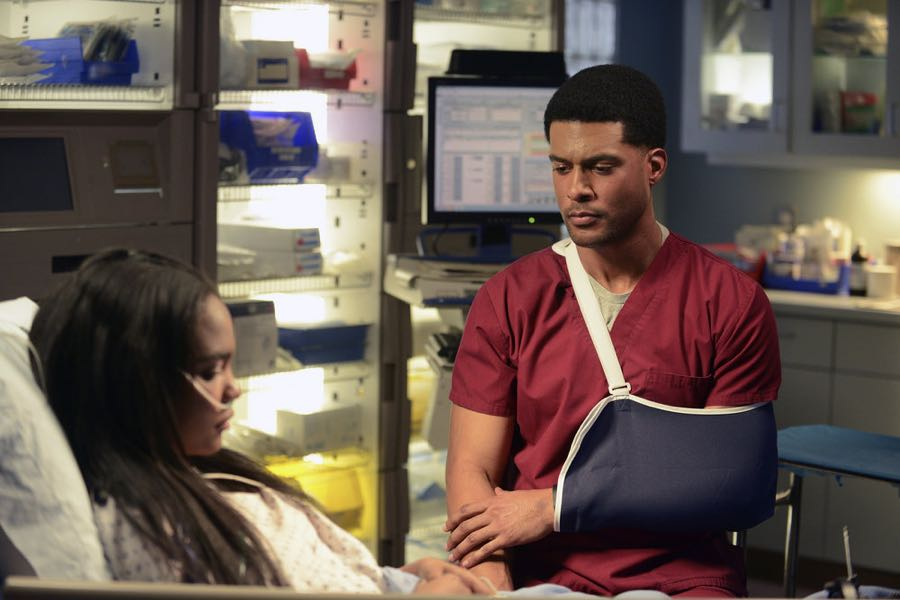 "THE NIGHT SHIFT -- ""Unexpected"" Episode 309 -- Pictured: J.R. Lemon as Kenny Fournette -- (Photo by: Ursula Coyote/NBC)"