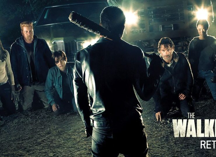 The Walking Dead Comic Con Key Art