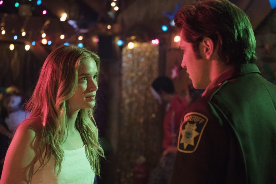 """DEAD OF SUMMER - """"Modern Love"""" - The annual masquerade ball sets the stage for intrigue and danger in """"Modern Love,"""" an all-new episode of """"Dead of Summer,"""" airing TUESDAY, JULY 19 (9:00 - 10:00 p.m. EDT), on Freeform. (Freeform/Katie Yu) ELIZABETH LAIL, ALBERTO FREZZA"""