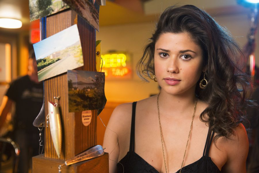 """DEAD OF SUMMER - """"Mix Tape"""" - A night off duty for some of the counselors provides welcome opportunities for romance, but could end on a darker note in """"Mix Tape,"""" an all-new episode of """"Dead of Summer,"""" airing TUESDAY, JULY 12 (9:00 - 10:00 p.m. EDT), on Freeform. - (Freeform/ Katie Yu) AMBER CONEY"""
