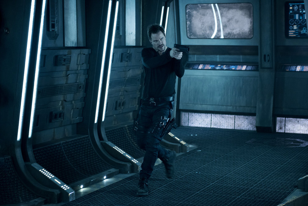 """DARK MATTER -- """" I've Seen The Other Side of You  """" Episode 203 -- Pictured:  Anthony Lemke as Three -- (Photo by: Christos Kalohoridis/Prodigy Pictures/Syfy)"""