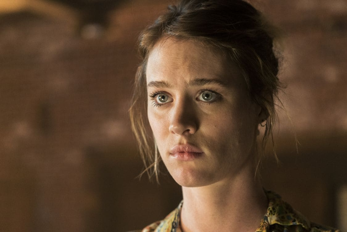 Mackenzie Davis as Cameron Howe - Halt and Catch Fire _ Season 3, Episode 4  - Photo Credit: Tina Rowden/AMC