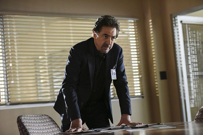 """""""The Crimson King"""" -- Agent Luke Alvez (Adam Rodriguez) joins the BAU team, which is tasked with capturing a killer who escaped prison with 13 other convicts at the end of last season, on the 12th season premiere of CRIMINAL MINDS, Wednesday, Sept. 28 (9:00-10:00 PM, ET/PT), on the CBS Television Network. Pictured: Joe Mantegna as David Rossi Photo: Eddy Chen/CBS ©2016 CBS Broadcasting, Inc. All Rights Reserved"""