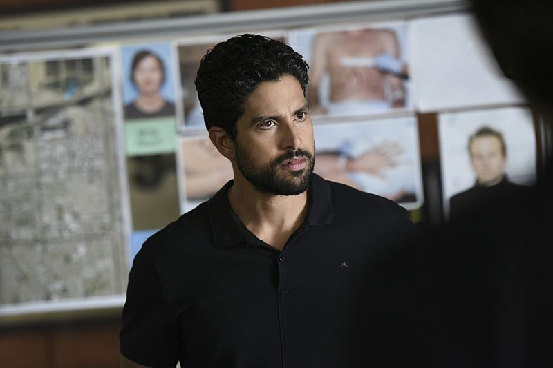 """""""The Crimson King"""" -- Agent Luke Alvez (Adam Rodriguez) joins the BAU team, which is tasked with capturing a killer who escaped prison with 13 other convicts at the end of last season, on the 12th season premiere of CRIMINAL MINDS, Wednesday, Sept. 28 (9:00-10:00 PM, ET/PT), on the CBS Television Network. Pictured: Adam Rodriguez as Luke Alvez Photo: Eddy Chen/CBS ©2016 CBS Broadcasting, Inc. All Rights Reserved"""