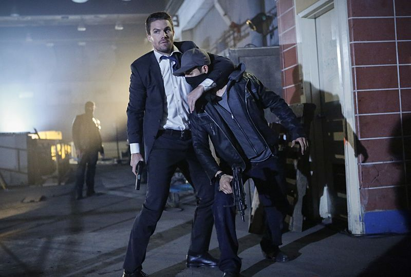 """Arrow -- """"Legacy"""" -- Image AR501c_0007b --- Pictured: Stephen Amell as Oliver Queen -- Photo: Bettina Strauss/The CW -- © 2016 The CW Network, LLC. All Rights Reserved."""