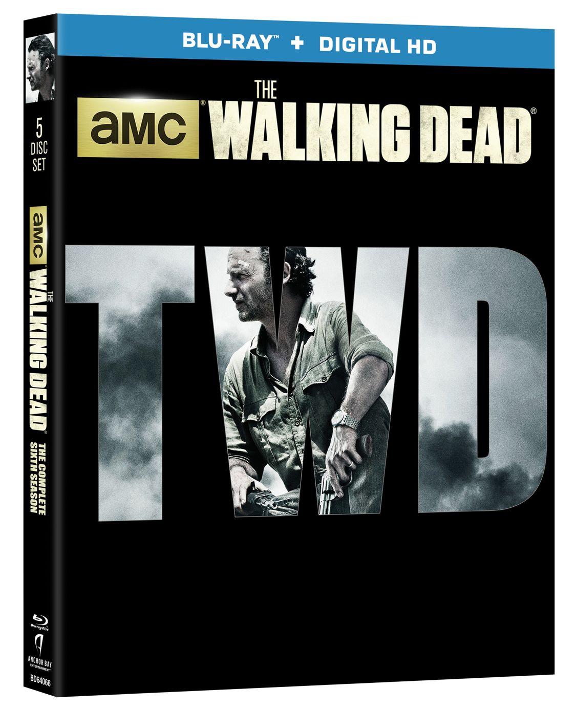 The Walking Dead Season 6 Bluray
