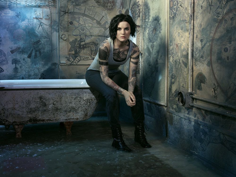BLINDSPOT -- Season: 2 -- Pictured: Jaimie Alexander as Jane Doe -- (Photo by: Matthias Clamer/NBC)