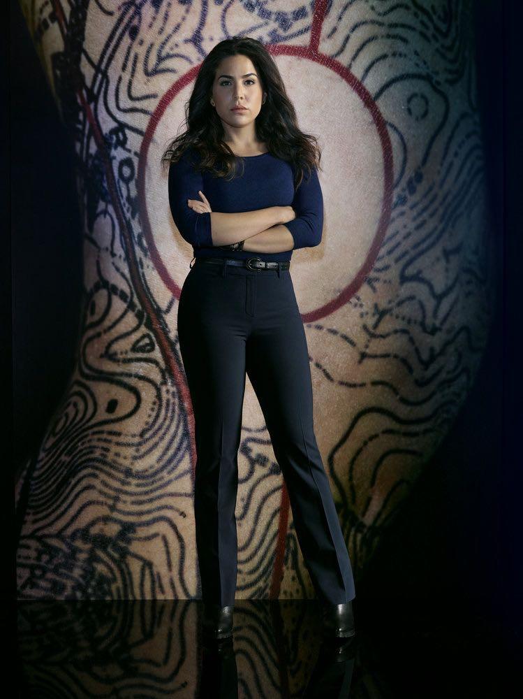 BLINDSPOT -- Season: 2 -- Pictured: Audrey Esparza as Tasha Zapata -- (Photo by: Matthias Clamer/NBC)