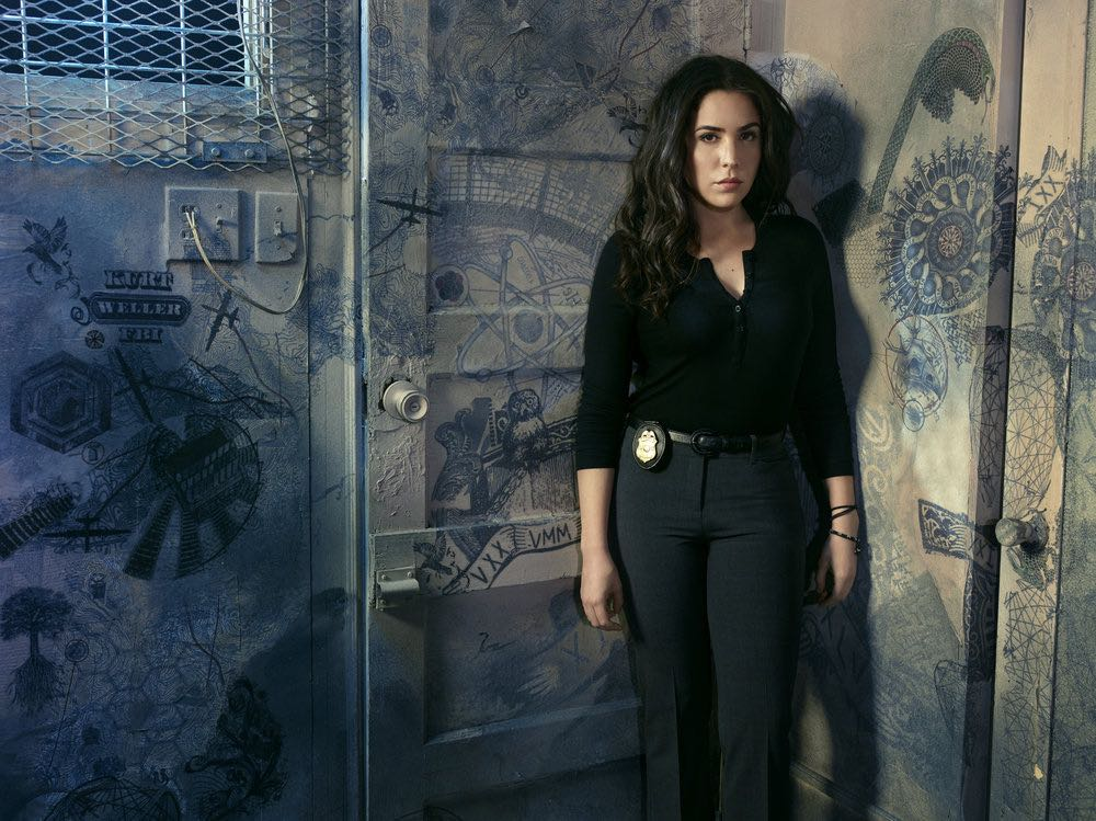 BLINDSPOT -- Season: 2 -- Pictured: Audrey Esparza as Tasha Zapata -- (Photo by: Matthias Clamer/NBC)