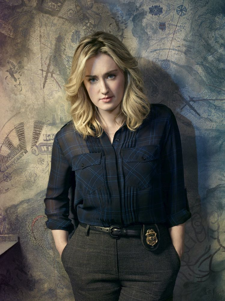 BLINDSPOT -- Season: 2 -- Pictured: Ashley Johnson as Patterson -- (Photo by: Matthias Clamer/NBC)