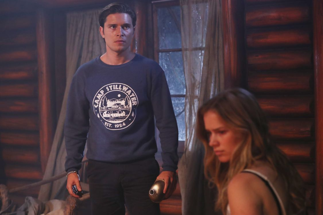 """DEAD OF SUMMER - """"Home Sweet Home"""" - The counselors confront the evil that lurks in the lake of Camp Stillwater in """"Home Sweet Home,"""" an all-new episode of """"Dead of Summer,"""" airing TUESDAY, AUGUST 23 (9:00 - 10:00 p.m. EDT), on Freeform, the new name for ABC Family. (Freeform/Jack Rowand) RONEN RUBINSTEIN, ELIZABETH LAIL"""