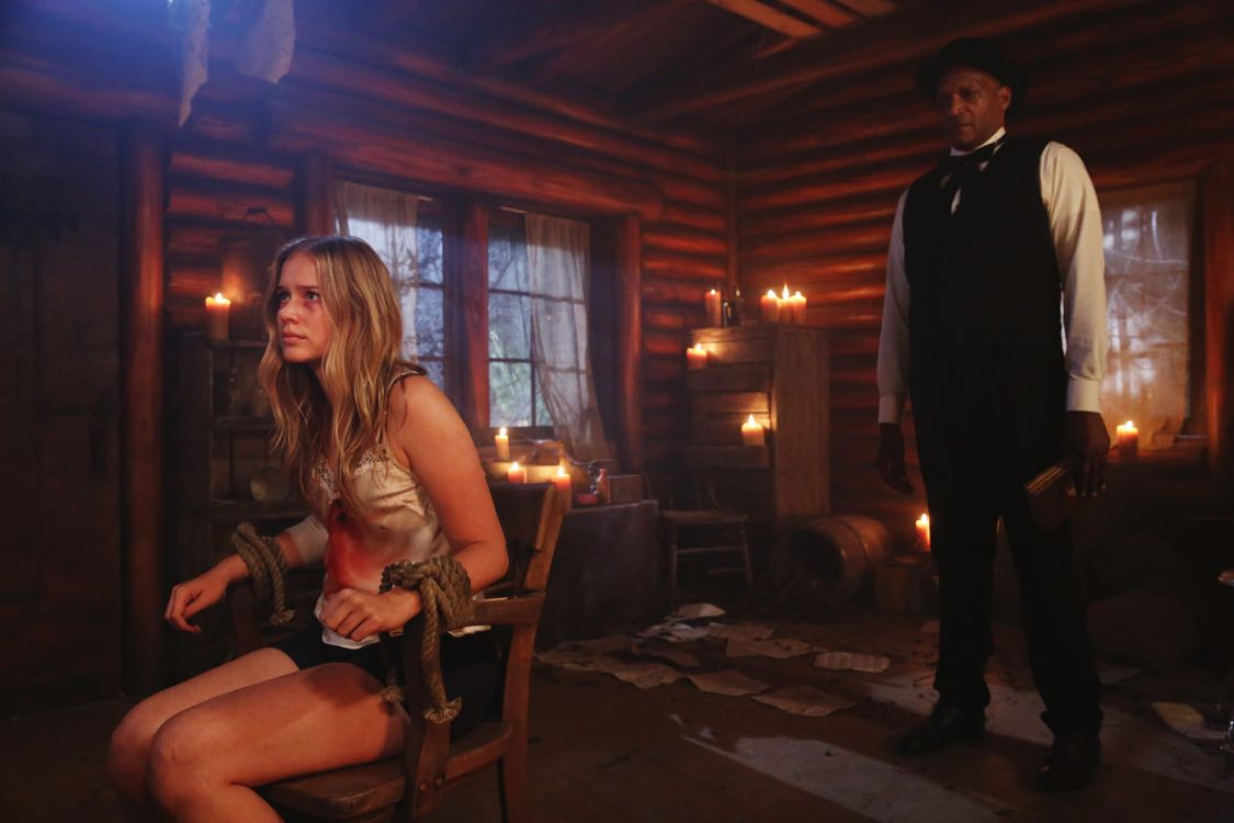 """DEAD OF SUMMER - """"Home Sweet Home"""" - The counselors confront the evil that lurks in the lake of Camp Stillwater in """"Home Sweet Home,"""" an all-new episode of """"Dead of Summer,"""" airing TUESDAY, AUGUST 23 (9:00 - 10:00 p.m. EDT), on Freeform, the new name for ABC Family. (Freeform/Jack Rowand) ELIZABETH LAIL, TONY TODD"""