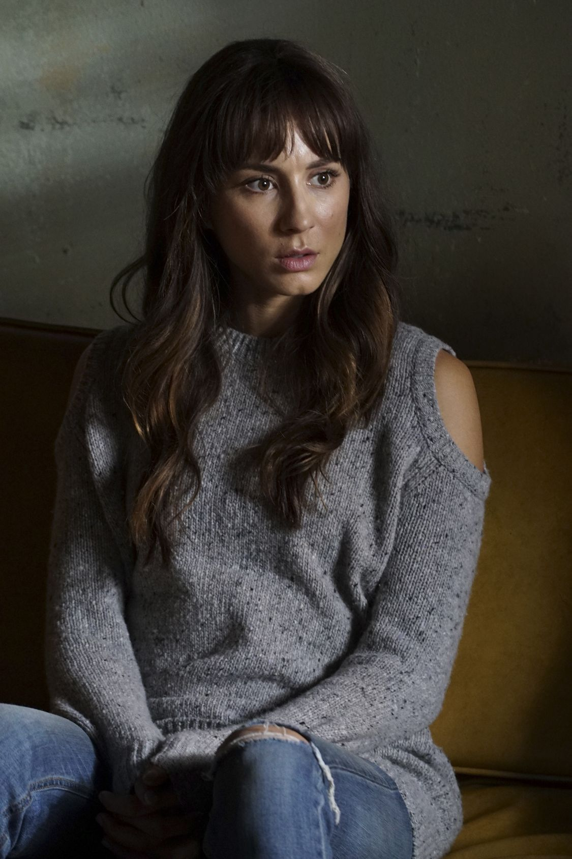 """PRETTY LITTLE LIARS - """"Exes and OMGs"""" - Emily's ex Paige unexpectedly returns to Rosewood, as does the ominous Mrs. Grunwald, in """"Exes and OMGs,"""" an all-new episode of Freeform's hit original series """"Pretty Little Liars,"""" airing TUESDAY, AUGUST 16 (8:00 - 9:00 p.m. EDT), the new name for ABC Family. (Freeform/Byron Cohen) TROIAN BELLISARIO"""