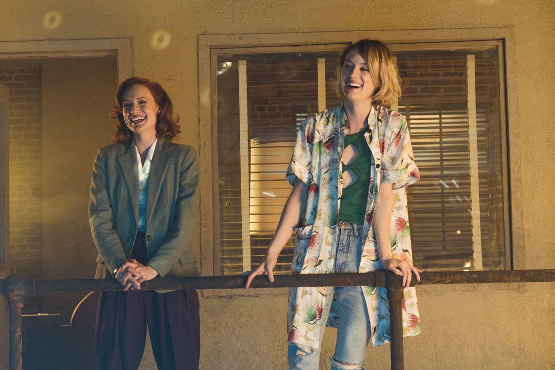 Mackenzie Davis as Cameron Howe, Kerry Bishé as Donna Clark - Halt and Catch Fire _ Season 3, Episode 1  - Photo Credit: Tina Rowden/AMC