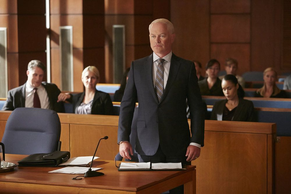 """SUITS -- """"Spain"""" Episode 606 -- Pictured: Neal McDonough as Sean Cahill -- (Photo by: Ian Watson/USA Network)"""