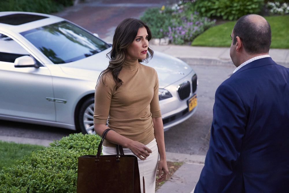 """SUITS -- """"Spain"""" Episode 606 -- Pictured: Carly Pope as Tara Messer -- (Photo by: Shane Mahood/USA Network)"""