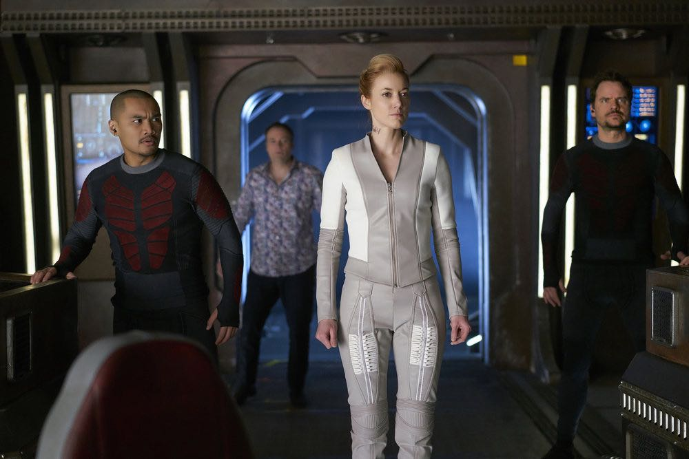 DARK MATTER Season 2 Episode 7 Photos Shes One Of Them Now 06