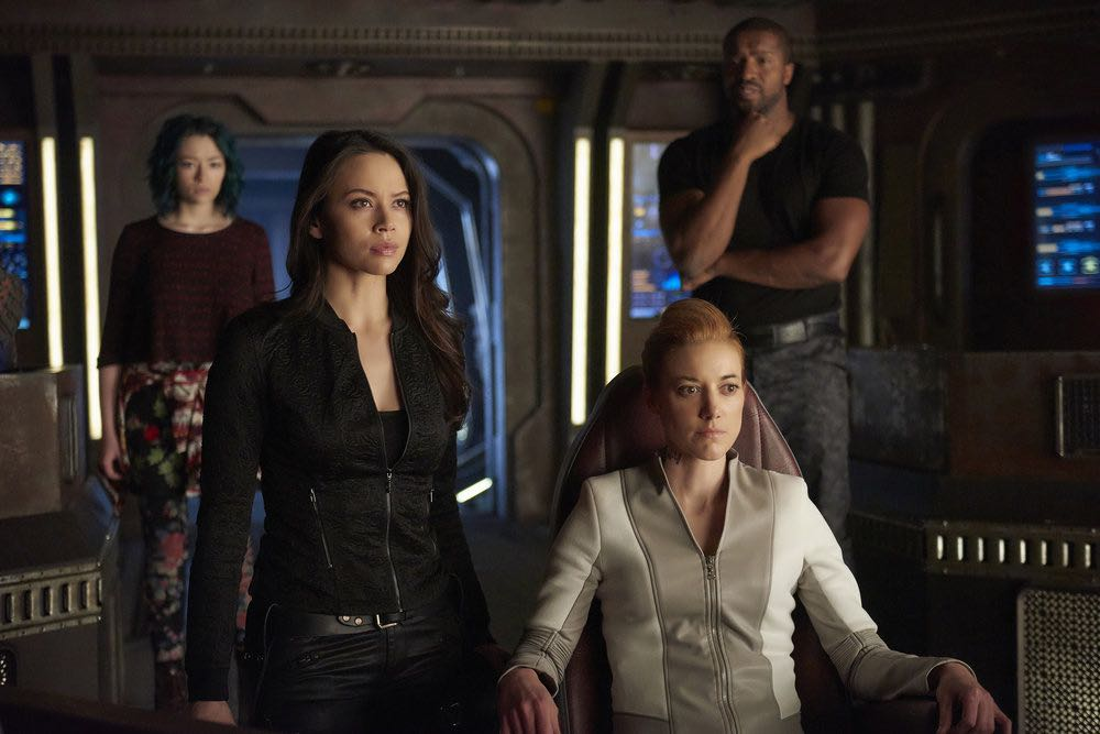 DARK MATTER Season 2 Episode 7 Photos Shes One Of Them Now 04