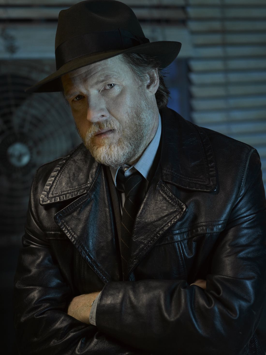 GOTHAM: Donal Logue. Season 3 of GOTHAM premieres Monday, Sept. 19 (8:00-9:00 PM ET/PT) on FOX. ©2016 Fox Broadcasting Co. Cr: Mark Seliger/FOX