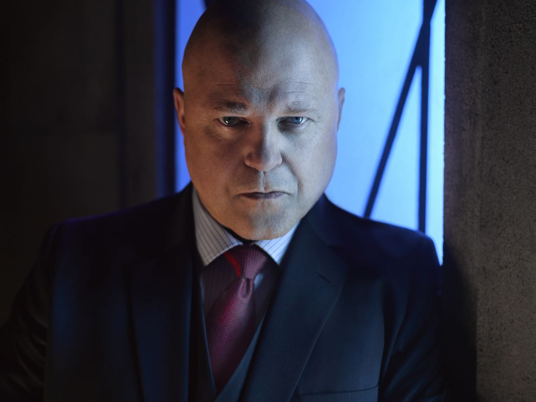 GOTHAM: Michael Chiklis. Season 3 of GOTHAM premieres Monday, Sept. 19 (8:00-9:00 PM ET/PT) on FOX. ©2016 Fox Broadcasting Co. Cr: Mark Seliger/FOX