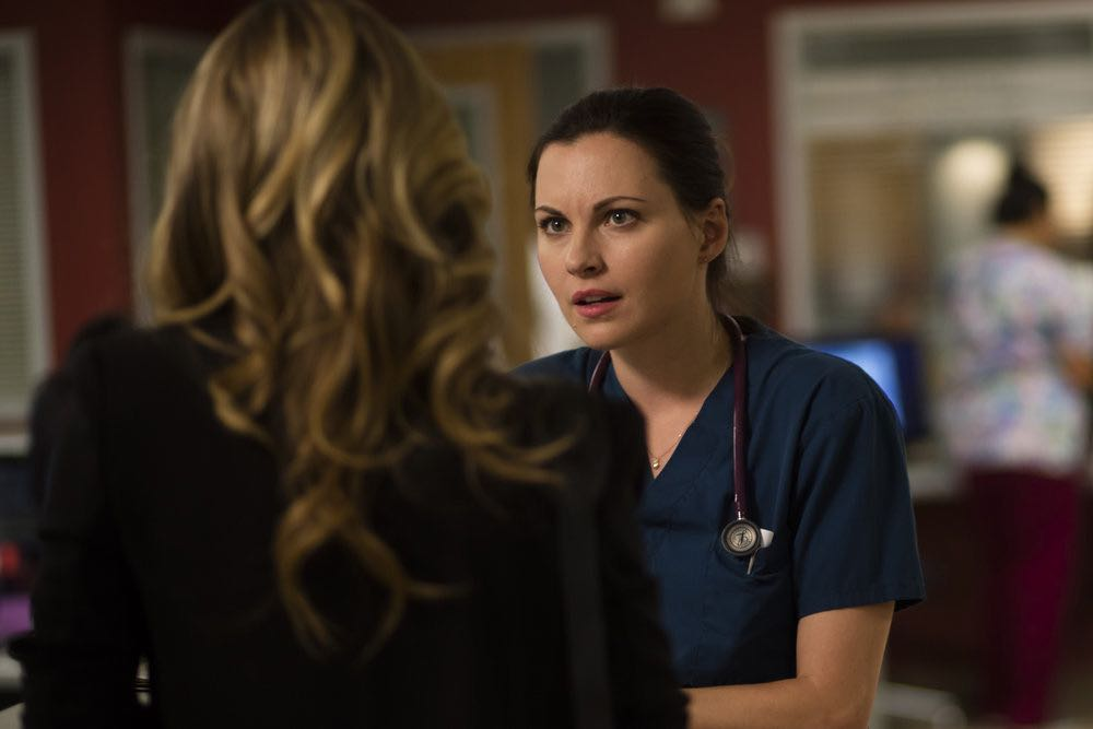 "THE NIGHT SHIFT-- ""Trust Issues"" Episode 311 -- Pictured: Jill Flint as Dr. Jordan Alexander -- (Photo by: Cathy Kanavy/NBC)"