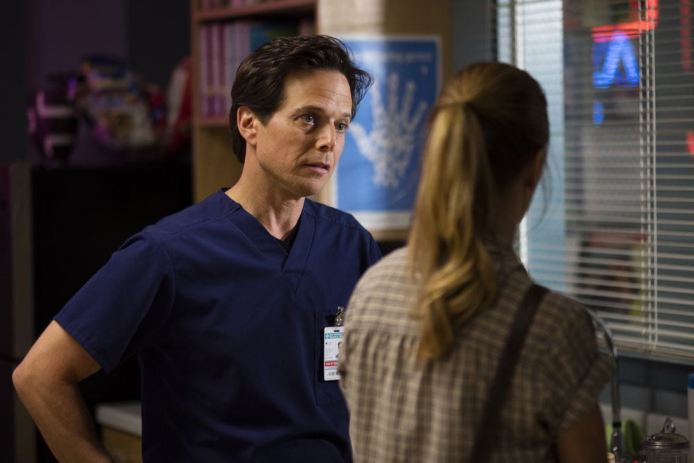 "THE NIGHT SHIFT-- ""Trust Issues"" Episode 311 -- Pictured: Scott Wolf as Dr. Scott Clemmens -- (Photo by: Cathy Kanavy/NBC)"