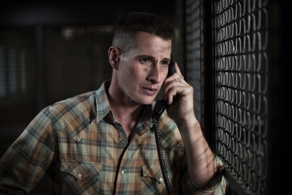 "THE NIGHT SHIFT-- ""Trust Issues"" Episode 311 -- Pictured: Brendan Fehr as Dr. Drew Alister -- (Photo by: Cathy Kanavy/NBC)"
