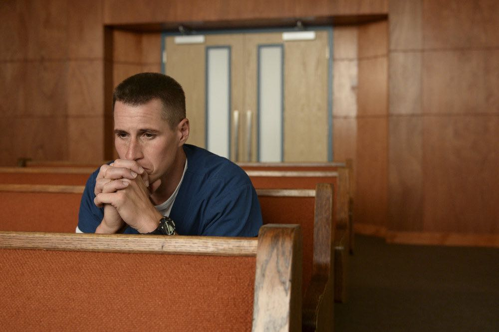 """THE NIGHT SHIFT-- """"Between a Rock and a Hard Place"""" Episode 310 -- Pictured: Brendan Fehr as Dr. Drew Alister -- (Photo by: Ursula Coyote/NBC)"""