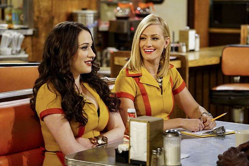 2 BROKE GIRLS Season 6 Episode 1 Photos And the Two Openings Part One 11