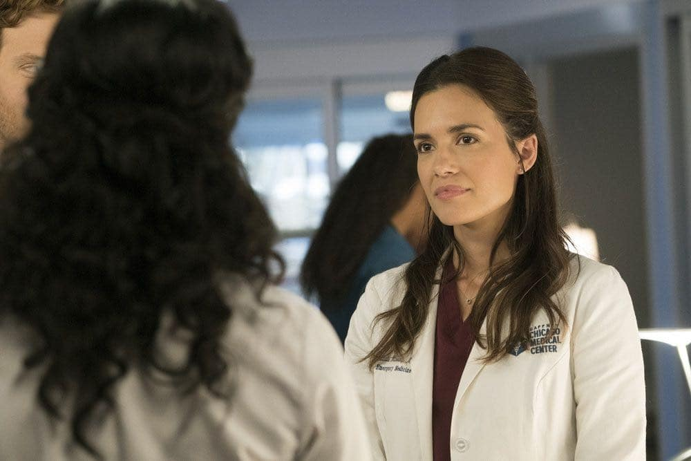 "CHICAGO MED -- ""Brother's Keeper"" Episode 204 -- Pictured: Torrey DeVitto as Natalie Manning -- (Photo by: Elizabeth Sisson/NBC)"