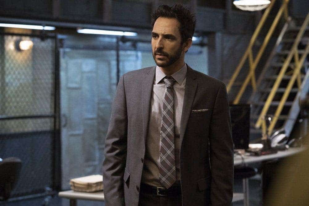 "THE BLACKLIST -- ""Gaia: #81"" Episode 404 -- Pictured: Amir Arison as Aram Mojtabai -- (Photo by: Virginia Sherwood/NBC)"
