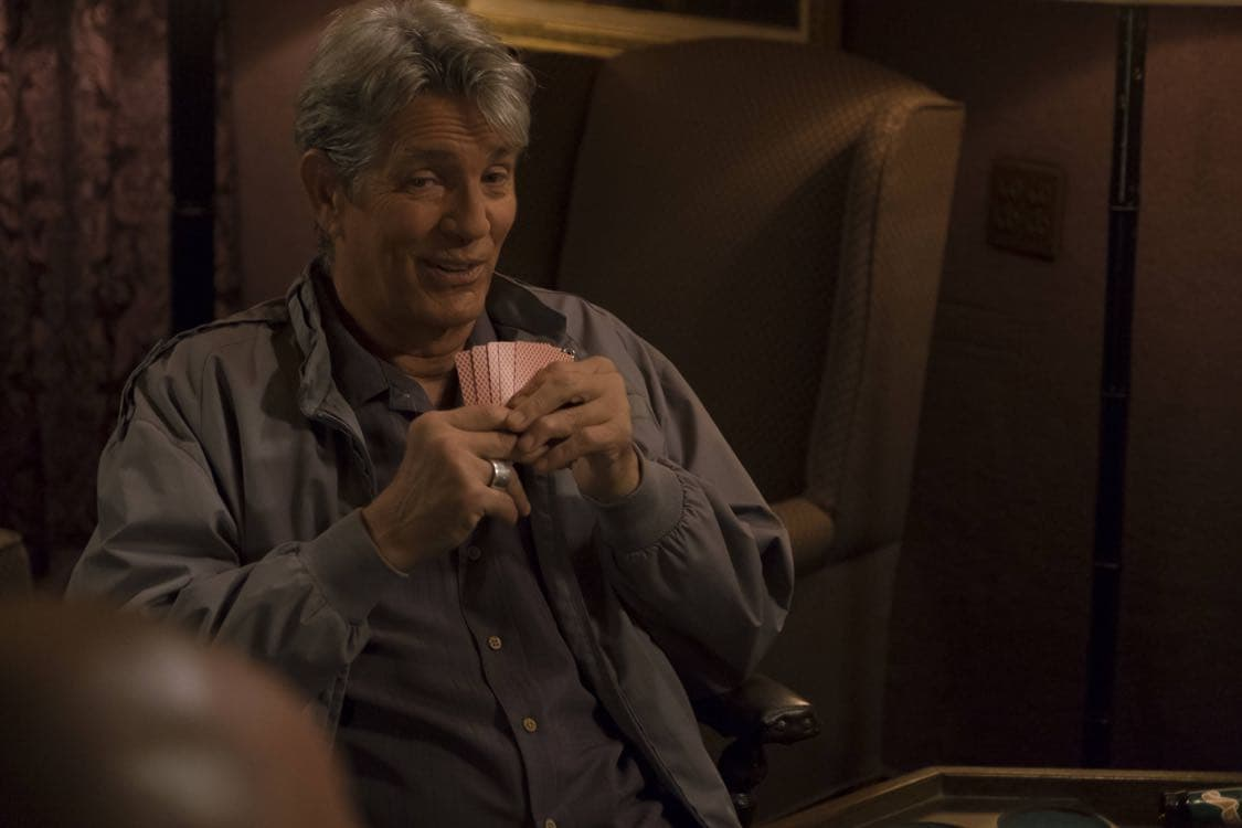 """BROOKLYN NINE-NINE: Special guest Eric Roberts in the """"Coral Palms Pt.3"""" episode of BROOKLYN NINE-NINE airing Tuesday, Oct. 4 (8:00-8:30 PM ET/PT) on FOX. CR: John P Fleenor/FOX"""