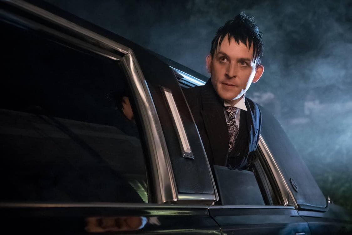 """GOTHAM: Robin Lord Taylor in the""""Mad City: Look Into My Eyes"""" episode of GOTHAM airing Monday, Oct. 3 (8:00-9:01 PM ET/PT) on FOX.  ©2016 Fox Broadcasting Co. Cr: Jeff Neumann/FOX."""